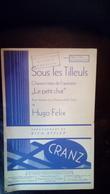 Partition Sous Les Tilleuls Pour Violon Ou Violoncelle 1935 - Scores & Partitions