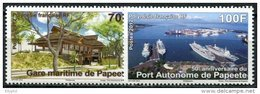 Polynésie, N° 979 à N° 980** Y Et T - Neufs