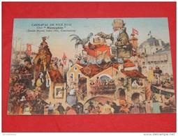 "NICE  - Carnaval De Nice    - FOLKLORE - Char  "" Meneghin ""  - Illustrateur : G. A. Mossa - - Ilustradores & Fotógrafos"