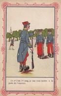 MILITARIA - HUMOUR - Publicité Maison Cahen-Brisac - Chaussures - Humorísticas