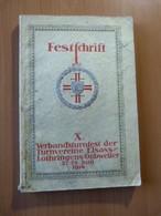 Festschrift X. Verbandsturnfest Guebwiller 27/29 Juin 1914. Alsace-Lorraine - Livres, BD, Revues