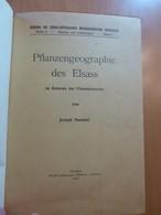 Hummel J. Pflanzengeographie Des Elsass. Botanique. Alsace. Flore - Livres, BD, Revues