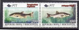 BOSNIE-HERZEGOVINE - N°166/7  **  (1995) - Bosnien-Herzegowina