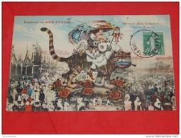 NICE  - Carnaval De Nice    - FOLKLORE - Char De Madame Carnaval - Illustrateur : G. A. Mossa - - Ilustradores & Fotógrafos