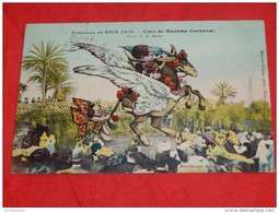 NICE  - Carnaval De Nice  1909 - FOLKLORE - Char De Madame Carnaval - Illustrateur : G. A. Mossa - - Ilustradores & Fotógrafos