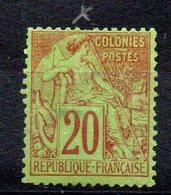 COLONIES GENERALES - YT N° 52 - Neuf * - MH - Cote: 60,00 € - Alphee Dubois