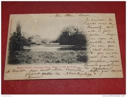 PERUWELZ  -  Château  Edm.  Petit  - Côté Du Parc  -  1902    - - Péruwelz