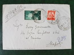 (36486) STORIA POSTALE ITALIA 1948 - 6. 1946-.. Republic