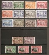 ST HELENA 1938 - 1944 AND 1949 SETS SG 131/140, 149/151 FINE USED Cat £69 - Saint Helena Island