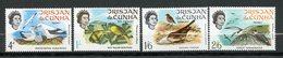 Tristan Da Cunha, Yvert 116/119, Scott 116/119, SG 113/116, MNH - Tristan Da Cunha