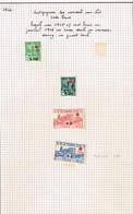 Lot France Surcharge Croix-rouge à Identifier - Stamps