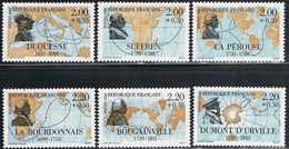 FRANCE : N° 2517-2518-2519-2520-2521-2522 ** (Grands Navigateurs Français) - PRIX FIXE : 1/3 De La Cote - - Francia