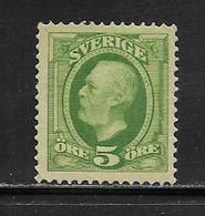 SUEDE  ( EUSU - 331 )  1910  N° YVERT ET TELLIER  N°  62  N* - Schweden