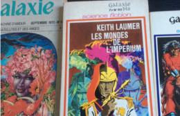 Lot De 7 Livres De Science Fiction & 1 Épouvante (formats Poche) : R. Bradbury-U.K.Le Guin-J. Guieu-A.E. Van Vogt-A. Rue - Books, Magazines, Comics