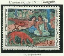 FRANCE - 1968 - L'AREREA DE PAUL GAUGUIN - YT N° 1568 - TIMBRE NEUF** - Frankreich