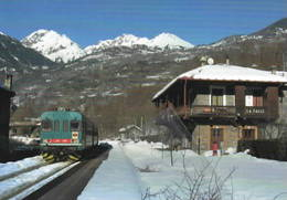 563 ALn 663.1006 Stazione La Salle Aosta Rairoad Treain Railweys Treni Rotabili - Stazioni Con Treni