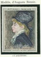 FRANCE - 1968 - MODÈLE D'AUGUSTE RENOIR - YT N° 1570 - TIMBRE NEUF** - France
