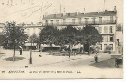 Ac8/      16   Angouleme     Place  Du Murier  (2)                                                        (animations) - Angouleme