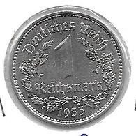 *germany  1 Mark 1935a Km 78  Xf+ /ms60 - 1 Reichsmark