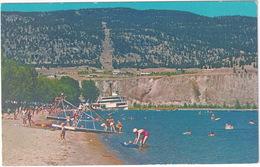 Penticton - Skaha Beach - (Steamer, Beach Slide) - (B.C., Canada) - Penticton