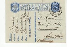 1484 01 POSTA MILITARE 70 COMANDO MARINA VALONA ALBANIA X SQUILLACE - Poste Militaire (PM)