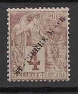 SPM - 1891 - N°Yv. 20 - 4c Lilas-brun - Neuf GC ** / MNH / Postfrisch - Nuevos