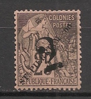 SPM - 1892 - N°Yv. 46 - Alphée Dubois 2 Sur 25c Noir Sur Rose - Neuf * / MH VF - St.Pierre Et Miquelon