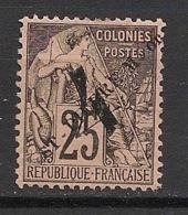 SPM - 1892 - N°Yv. 47 - Alphée Dubois 4 Sur 25c Noir Sur Rose - Neuf * / MH VF - St.Pierre Et Miquelon