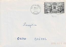 TP N° 2501 Seul Sur Enveloppe De Cérences - 1961-....