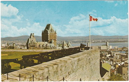 Québec - Le Panorama Est Splendide Vu Du Sommet De La Citadelle - ( Canada) - Québec - La Citadelle