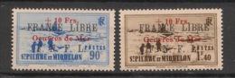 SPM - 1942 - N°Yv. 311A à 311B - Série Complète - Oeuvres De Mer - Neuf Luxe ** / MNH / Postfrisch - St.Pierre & Miquelon