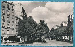 PARIS Boulevard Arago - Simca Aronde 9 1300 Peugeot 203 Panhard Dyna X Ford Vedette Renault 4CV Citroen Traction Autos - Arrondissement: 13