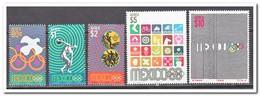 Mexico 1968, Postfris MNH, Olympic Games - Antigua En Barbuda (1981-...)