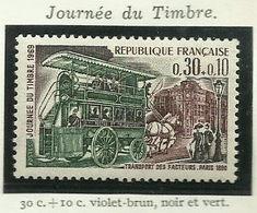 FRANCE - 1969 - JOURNÉE DU TIMBRE 1969 - YT N° 1589 - TIMBRE NEUF** - France