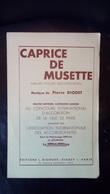 Partition Caprice De Musette Valse Musette Pour Accordéon - Scores & Partitions