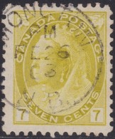 Canada      .   SG  .       160         .        O      .   Cancelled       .   /    .   Gebruikt - Used Stamps