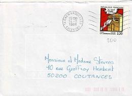 TP N° 2510 Seul Sur Enveloppe De Caen-Vaucelles - Postmark Collection (Covers)