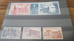 LOT 453094 TIMBRE DE MONACO NEUF* N°22 A 27 - Airmail