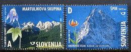 SLOVENIA 2002 Mountains Used.  Michel 392-93 - Slovenia