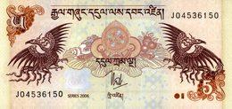 6060 -2019     BILLET BANQUE   BHOUTAN - Bhoutan