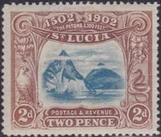 St Lucia      .   SG  .      63      .        *     .    Mint-hinged      .   /    .   Ongebruikt - 1850-1912 Victoria