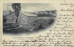 Brussel Bruxelles   Ecole Militaire De Belgique  1900    Militaire School Opleidingscentrum        I 6057 - Lanen, Boulevards