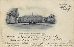 Brussel Bruxelles   Ecole Militaire De Belgique  1900    Militaire School Opleidingscentrum        I 6058 - Lanen, Boulevards