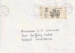 TP N° 2526 Seul  Sur Enveloppe De Nice St Barthélémy - Postmark Collection (Covers)