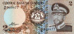 6065 -2019     BILLET BANQUE    LESOTHO - Lesotho