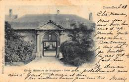 Brussel Bruxelles   école Militaire De Belgique  Militaire School Opleidingscentrum 1900          I 6060 - Lanen, Boulevards