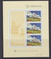 Europa Cept 1983 Azores M/s ** Mnh (42619A) - 1983