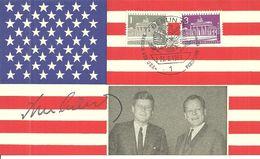 J.F. Kennedy  -Besuch Des USA-Präsidenten In Berlin 1963 - Politieke En Militaire Mannen