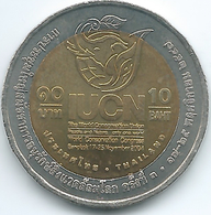 Thailand - Bhumibol - BE2547 (2004) - 10 Baht - 3rd IUCN World Conservation Congress In Bangkok - KMY413 - ๒๕๔๗ - Thailand