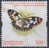 Armenia 2016 (MNH) - Marbled White  (Melanargia Galathea) - Butterflies